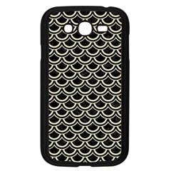 SCA2 BK-MRBL BG-LIN Samsung Galaxy Grand DUOS I9082 Case (Black)