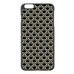 SCA2 BK-MRBL BG-LIN Apple iPhone 6 Plus/6S Plus Black Enamel Case