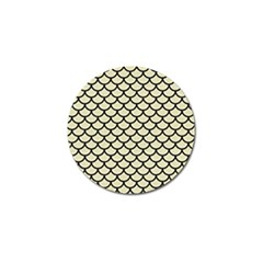 SCA1 BK-MRBL BG-LIN (R) Golf Ball Marker (10 pack)