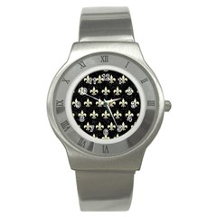 RYL1 BK-MRBL BG-LIN (R) Stainless Steel Watch