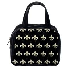 RYL1 BK-MRBL BG-LIN (R) Classic Handbags (One Side)