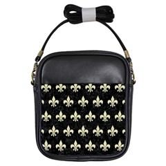 RYL1 BK-MRBL BG-LIN (R) Girls Sling Bags