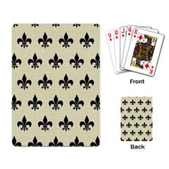 RYL1 BK-MRBL BG-LIN Playing Card