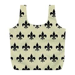 RYL1 BK-MRBL BG-LIN Full Print Recycle Bags (L)