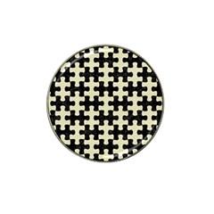 PUZ1 BK-MRBL BG-LIN Hat Clip Ball Marker (10 pack)