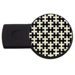 PUZ1 BK-MRBL BG-LIN USB Flash Drive Round (4 GB)