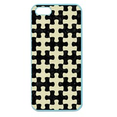 PUZ1 BK-MRBL BG-LIN Apple Seamless iPhone 5 Case (Color)