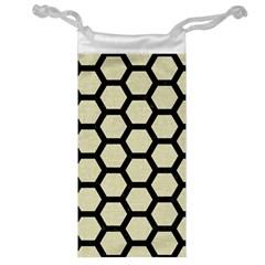 HXG2 BK-MRBL BG-LIN (R) Jewelry Bag