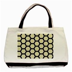 HXG2 BK-MRBL BG-LIN (R) Basic Tote Bag