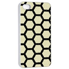 HXG2 BK-MRBL BG-LIN (R) Apple iPhone 4/4s Seamless Case (White)