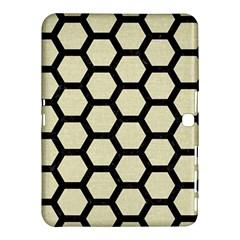 HXG2 BK-MRBL BG-LIN (R) Samsung Galaxy Tab 4 (10.1 ) Hardshell Case