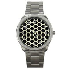 HXG2 BK-MRBL BG-LIN Sport Metal Watch