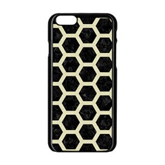 HXG2 BK-MRBL BG-LIN Apple iPhone 6/6S Black Enamel Case