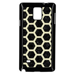 HXG2 BK-MRBL BG-LIN Samsung Galaxy Note 4 Case (Black)