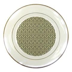 HXG1 BK-MRBL BG-LIN (R) Porcelain Plates