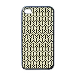 HXG1 BK-MRBL BG-LIN (R) Apple iPhone 4 Case (Black)