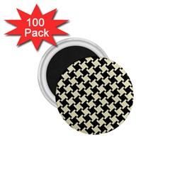 HTH2 BK-MRBL BG-LIN 1.75  Magnets (100 pack)
