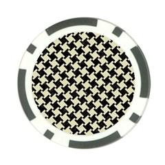 HTH2 BK-MRBL BG-LIN Poker Chip Card Guard (10 pack)