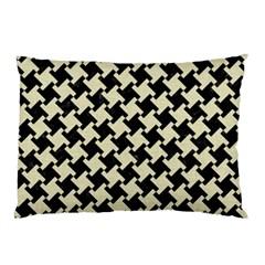 HTH2 BK-MRBL BG-LIN Pillow Case (Two Sides)