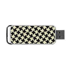 HTH2 BK-MRBL BG-LIN Portable USB Flash (Two Sides)