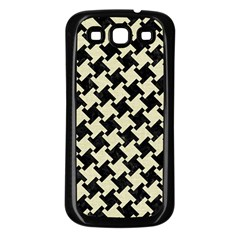 HTH2 BK-MRBL BG-LIN Samsung Galaxy S3 Back Case (Black)