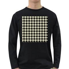 HTH1 BK-MRBL BG-LIN Long Sleeve Dark T-Shirts