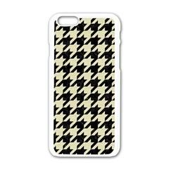 HTH1 BK-MRBL BG-LIN Apple iPhone 6/6S White Enamel Case