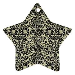 DMS2 BK-MRBL BG-LIN (R) Ornament (Star)