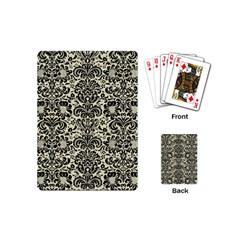 DMS2 BK-MRBL BG-LIN (R) Playing Cards (Mini)