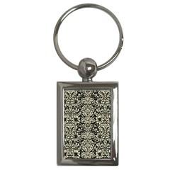 DMS2 BK-MRBL BG-LIN Key Chains (Rectangle)