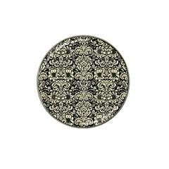 DMS2 BK-MRBL BG-LIN Hat Clip Ball Marker (10 pack)
