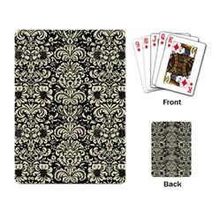 DMS2 BK-MRBL BG-LIN Playing Card