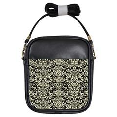 DMS2 BK-MRBL BG-LIN Girls Sling Bags