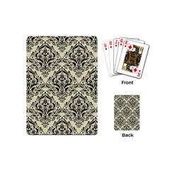 DMS1 BK-MRBL BG-LIN (R) Playing Cards (Mini)