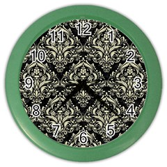 DMS1 BK-MRBL BG-LIN Color Wall Clocks