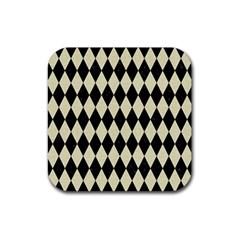 DIA1 BK-MRBL BG-LIN Rubber Coaster (Square)