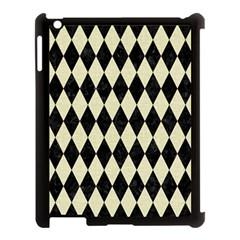 DIA1 BK-MRBL BG-LIN Apple iPad 3/4 Case (Black)