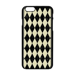 DIA1 BK-MRBL BG-LIN Apple iPhone 6/6S Black Enamel Case