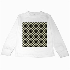 CIR3 BK-MRBL BG-LIN (R) Kids Long Sleeve T-Shirts