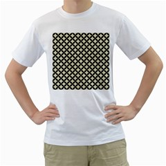 CIR3 BK-MRBL BG-LIN (R) Men s T-Shirt (White)