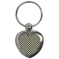 CIR3 BK-MRBL BG-LIN Key Chains (Heart)
