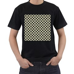 CIR3 BK-MRBL BG-LIN Men s T-Shirt (Black) (Two Sided)