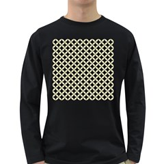 CIR3 BK-MRBL BG-LIN Long Sleeve Dark T-Shirts