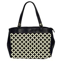 CIR3 BK-MRBL BG-LIN Office Handbags (2 Sides)
