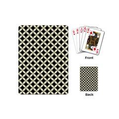 CIR3 BK-MRBL BG-LIN Playing Cards (Mini)