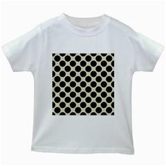 CIR2 BK-MRBL BG-LIN (R) Kids White T-Shirts