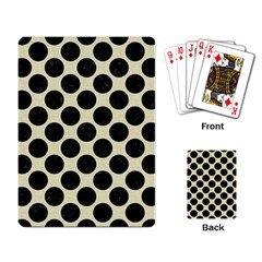 CIR2 BK-MRBL BG-LIN (R) Playing Card