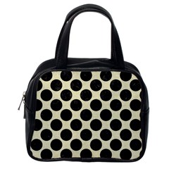 CIR2 BK-MRBL BG-LIN (R) Classic Handbags (One Side)