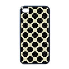 CIR2 BK-MRBL BG-LIN (R) Apple iPhone 4 Case (Black)