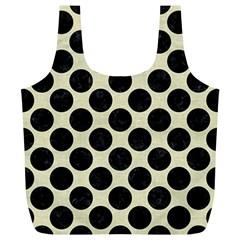 CIR2 BK-MRBL BG-LIN (R) Full Print Recycle Bags (L)